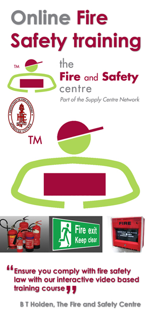 Fire Safety Training Card