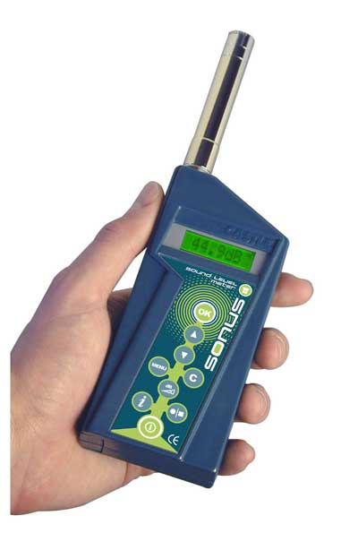The All-New Sonus Sound Level Meter