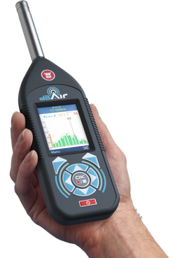 dBAir WiFi Sound Level Meters