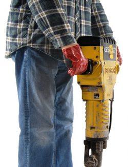 Hand Arm Vibration Exposure from Jackhammer