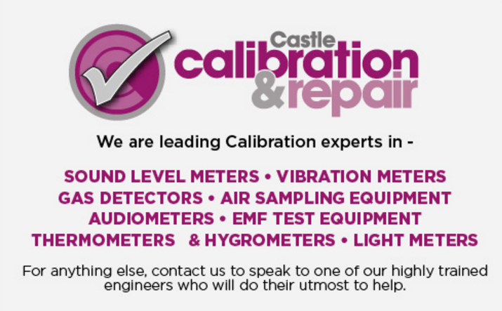 We are leading experts in Sound Meter Calibration