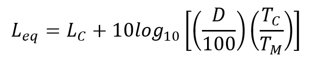 Calculating Leq from %Dose