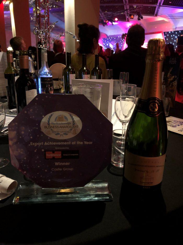 Castle win Export Award