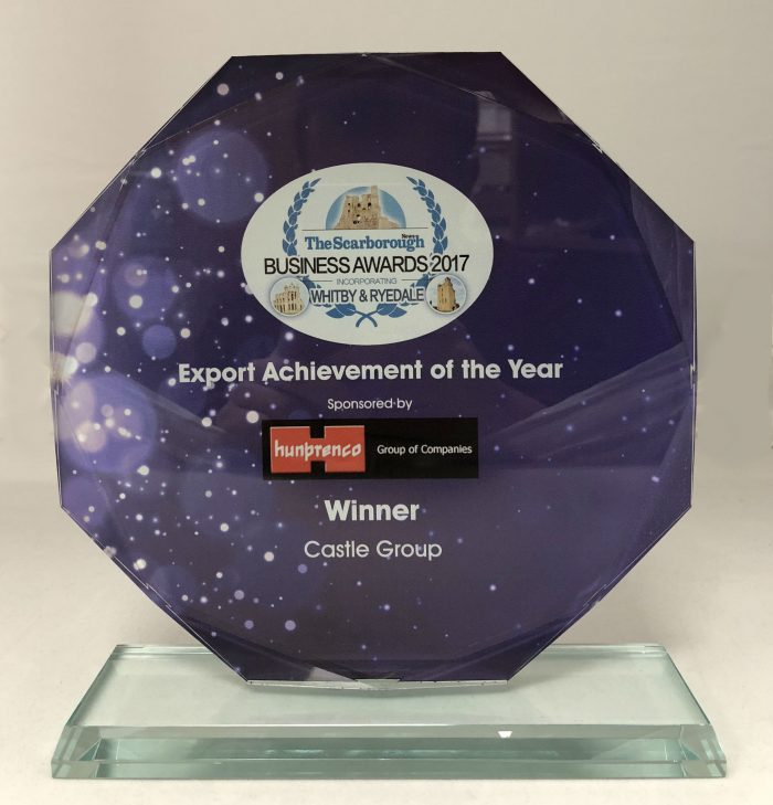 Castle win Export Achievement of the Year Award 2017