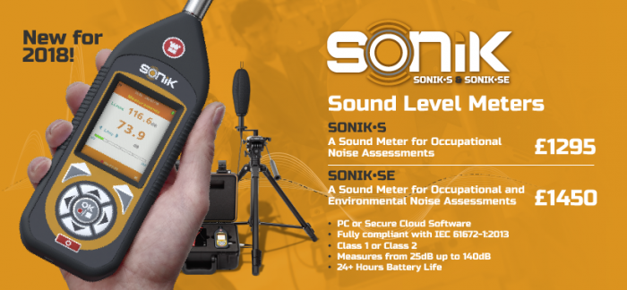 Castle's SONIK Sound Meter for 2018