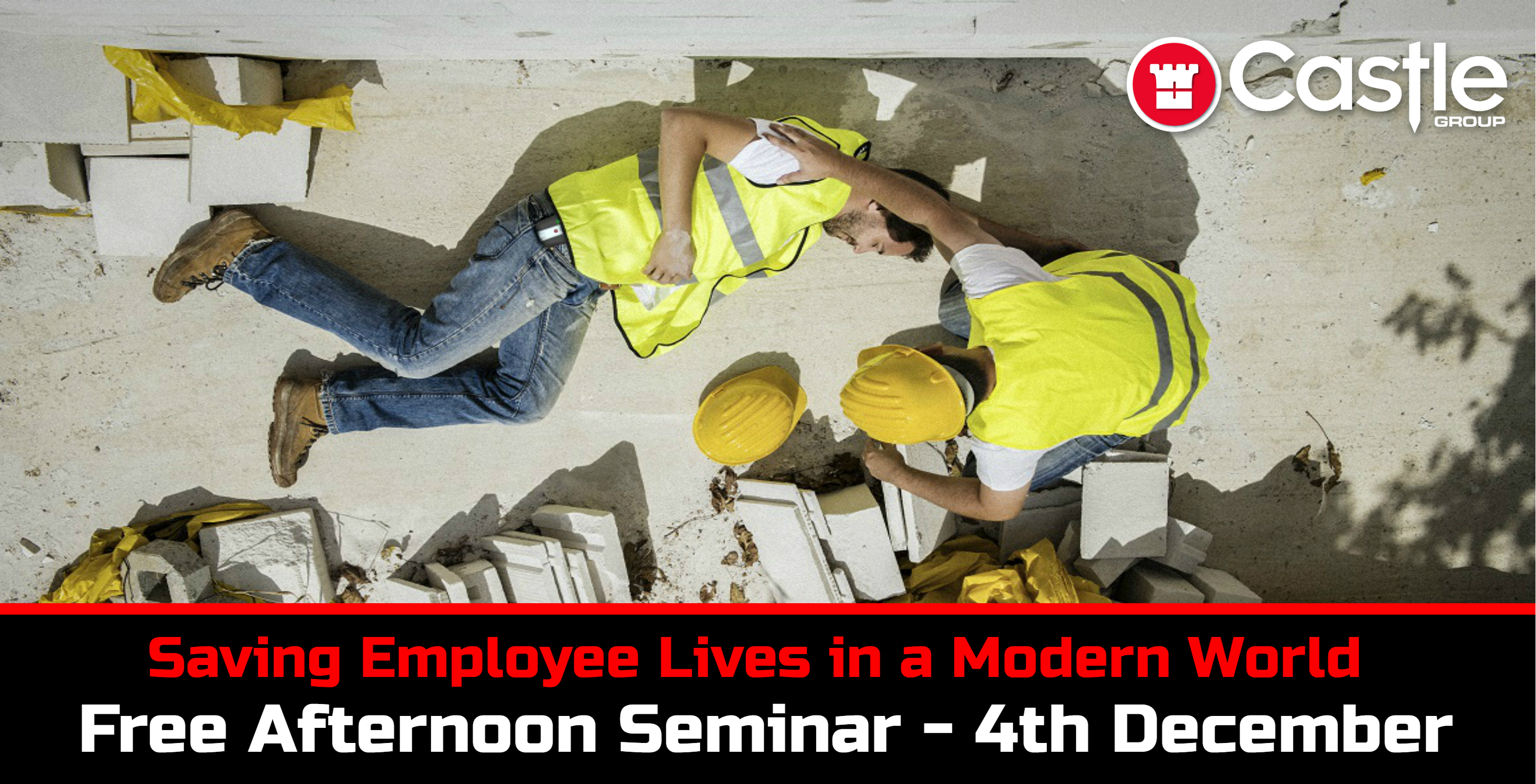 Saving Employee Lives in a Modern World Banner Seminar