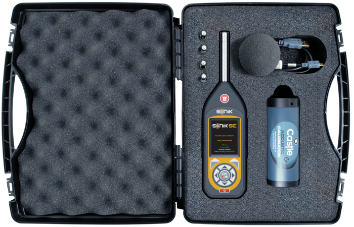 SONIK Sound Meter for Noise at Work