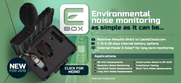 E-Box - Environmental Noise Monitoring System