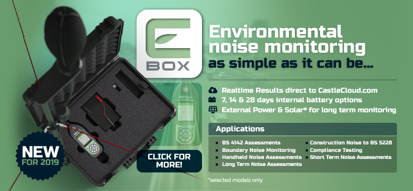 E-Box - Environmental Noise Monitoring System