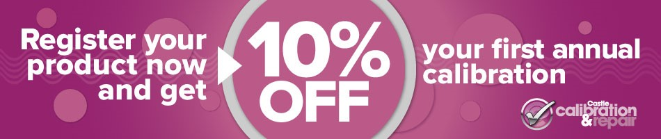 10% off calibration